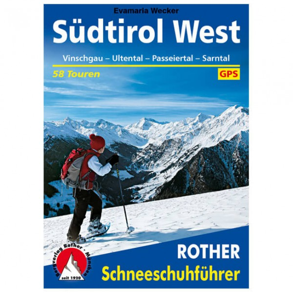 Bergverlag Rother - Südtirol West - Vandringsguider