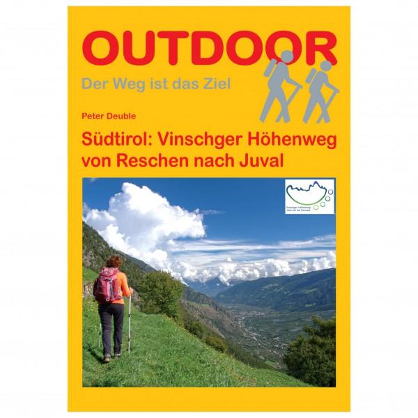 Conrad Stein Verlag - Südtirol: Vinschger Höhenweg - Vaellusoppaat