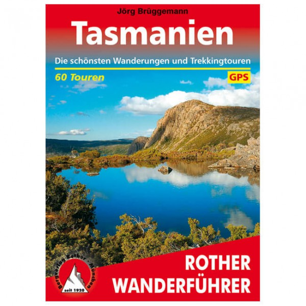 Bergverlag Rother - Tasmanien - Walking guide book