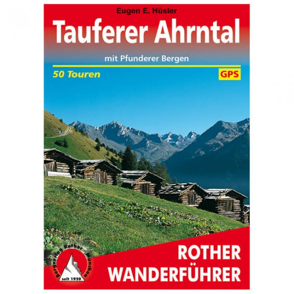 Bergverlag Rother - Tauferer Ahrntal - Walking guide book