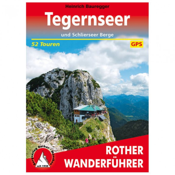 Bergverlag Rother - Tegernseer und Schlierseer Berge - Walking guide book