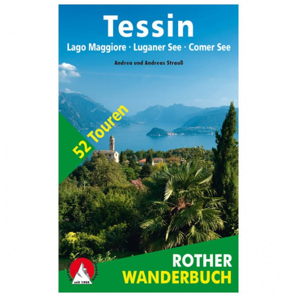 Bergverlag Rother - Tessin - Wandelgids