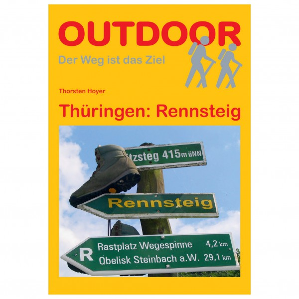Conrad Stein Verlag - Thüringen: Rennsteig - Vandringsguider