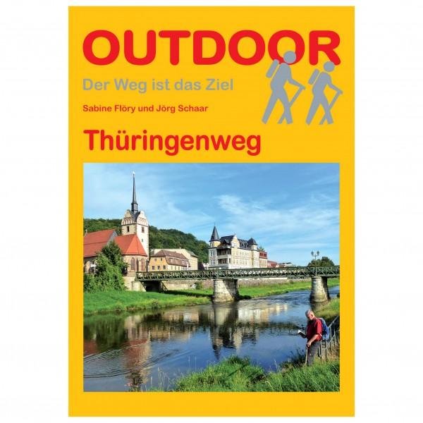 Conrad Stein Verlag - Thüringenweg - Walking guide book