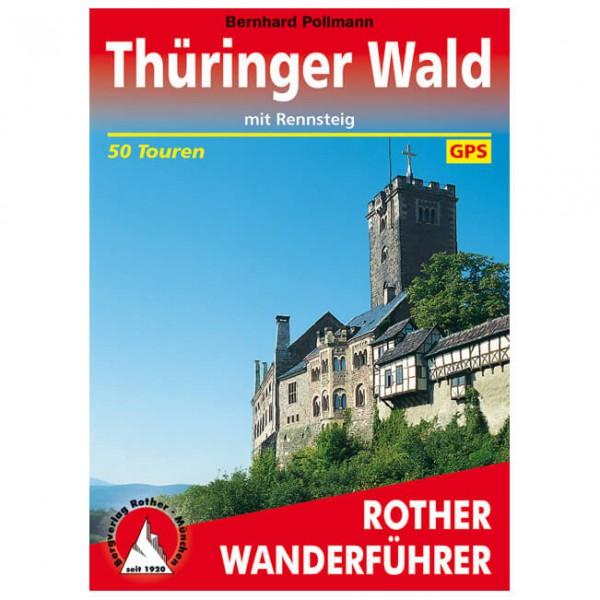 Bergverlag Rother - Thüringer Wald - Walking guide book