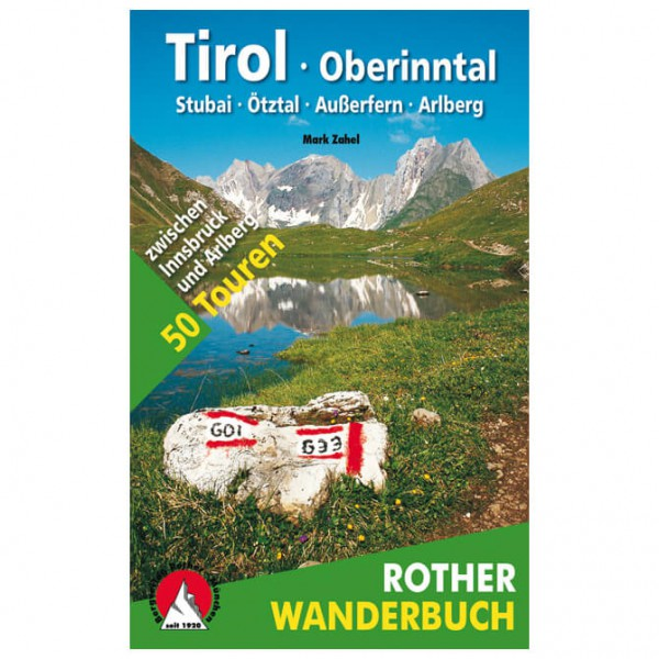 Bergverlag Rother - Tirol · Oberinntal - Walking guide book