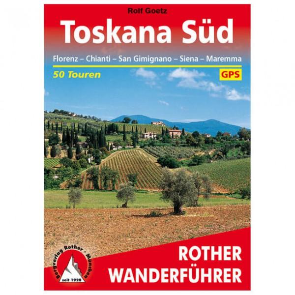 Bergverlag Rother - Toskana Süd - Walking guide book
