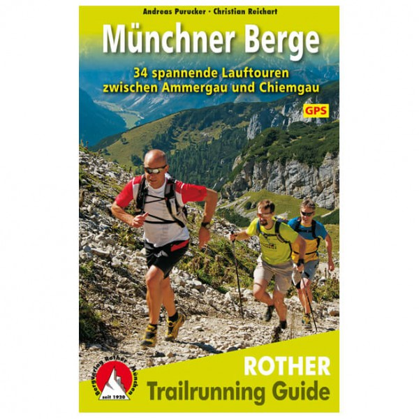 Bergverlag Rother - Trailrunning Guide Münchner Berge - Wanderführer