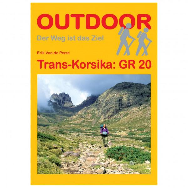 Conrad Stein Verlag - Trans-Korsika: GR 20 - Vaellusoppaat