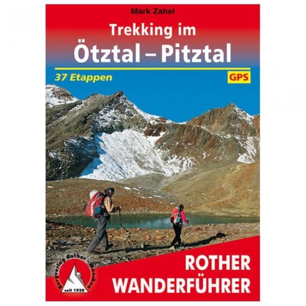 Bergverlag Rother - Trekking im Ötztal und Pitztal - Wanderführer