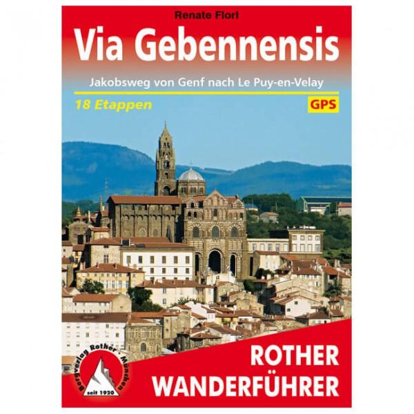 Bergverlag Rother - Via Gebennensis - Jakobsweg Genf - Vandringsguider
