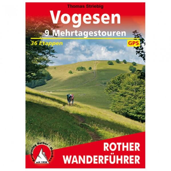 Bergverlag Rother - Vogesen - 9 Mehrtagestouren