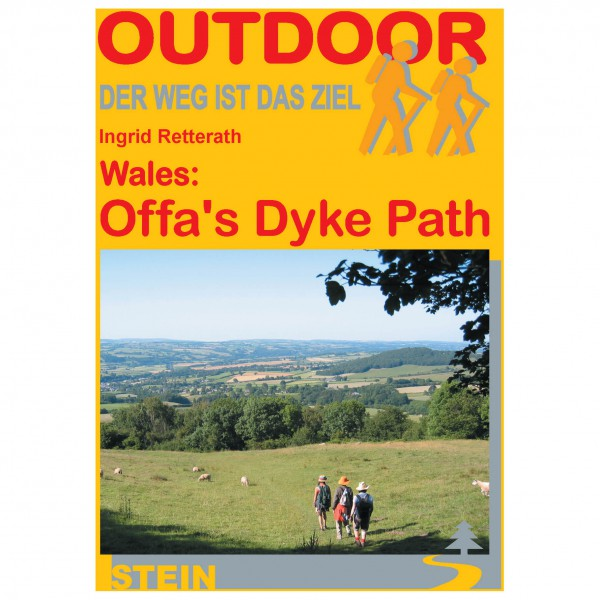 Conrad Stein Verlag - Wales: Offa's Dyke Path - Walking guide book