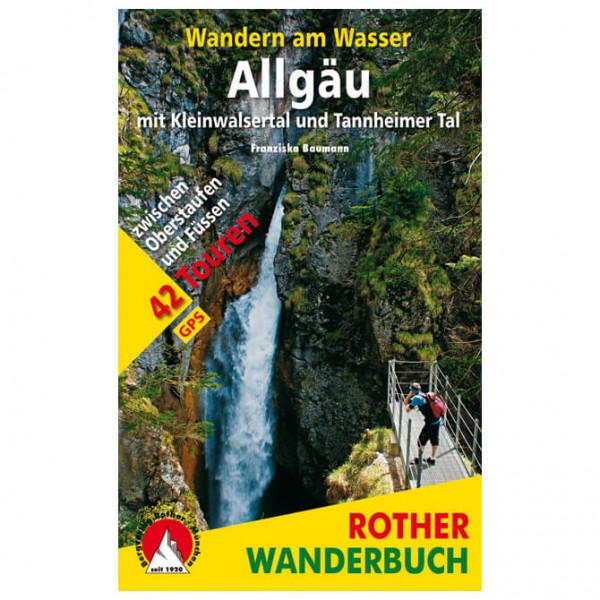 Bergverlag Rother - Wandern am Wasser Allgäu - Hiking guides