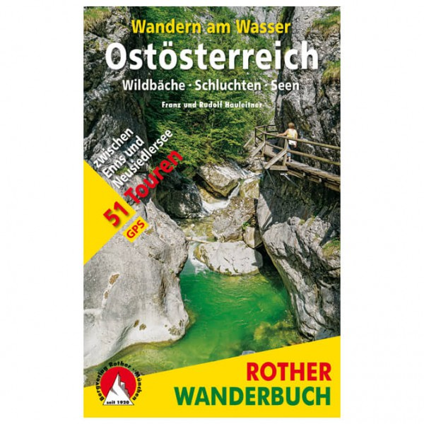 Bergverlag Rother - Wandern am Wasser Ostösterreich - Walking guide book