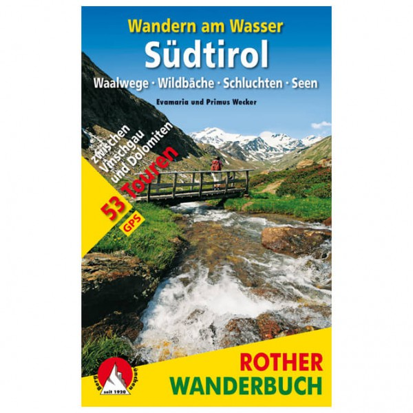 Wandern am Wasser Sdtirol - Walking guide book