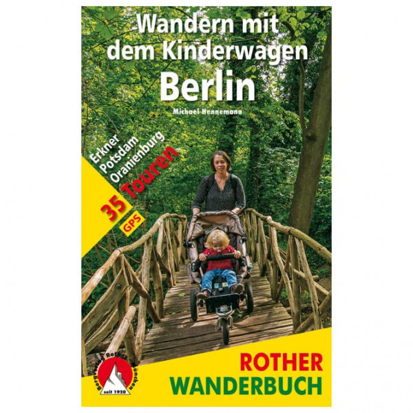 Bergverlag Rother - Wandern mit dem Kinderwagen Berlin - Walking guide book