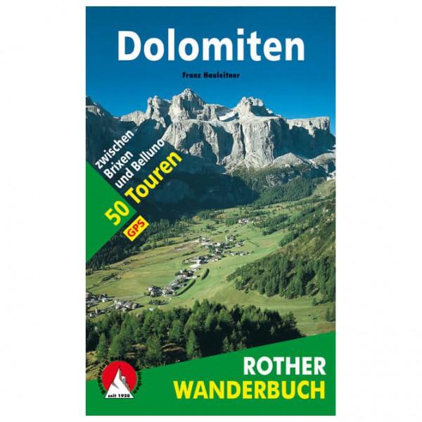 Bergverlag Rother - Wanderungen in den Dolomiten - Vandringsguider