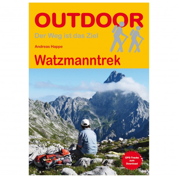 Conrad Stein Verlag - Watzmanntrek - Walking guide book