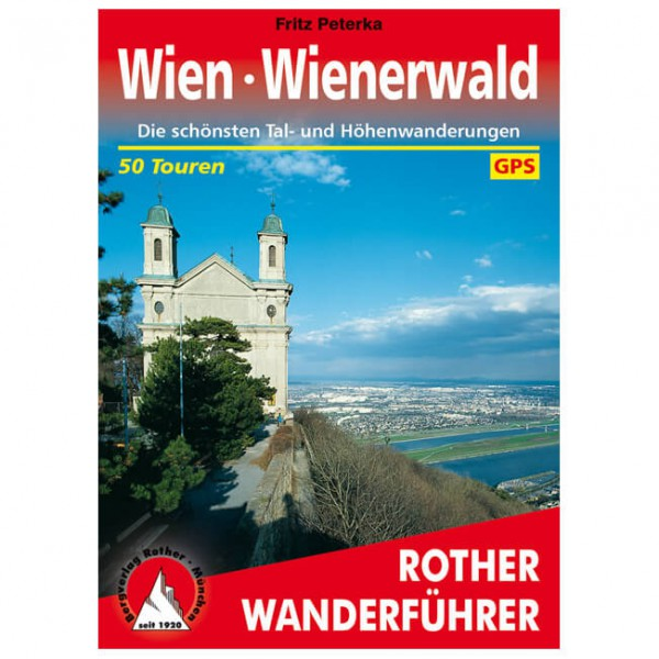 Bergverlag Rother - Wien - Wienerwald - Vaellusoppaat