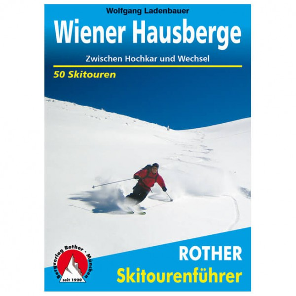 Bergverlag Rother - Wiener Hausberge - Ski tour guide