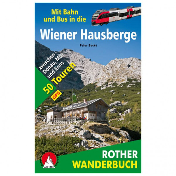 Bergverlag Rother - Wiener Hausberge mit Bahn und Bus - Vaellusoppaat