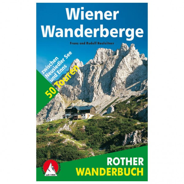 Bergverlag Rother - Wiener Wanderberge - Wandelgids