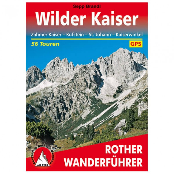 Bergverlag Rother - Wilder Kaiser - Vandreguides