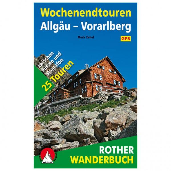 Bergverlag Rother - Wochenendtouren Allgäu - Walking guide book