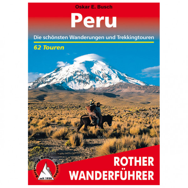 Bergverlag Rother - Peru - Walking guide book