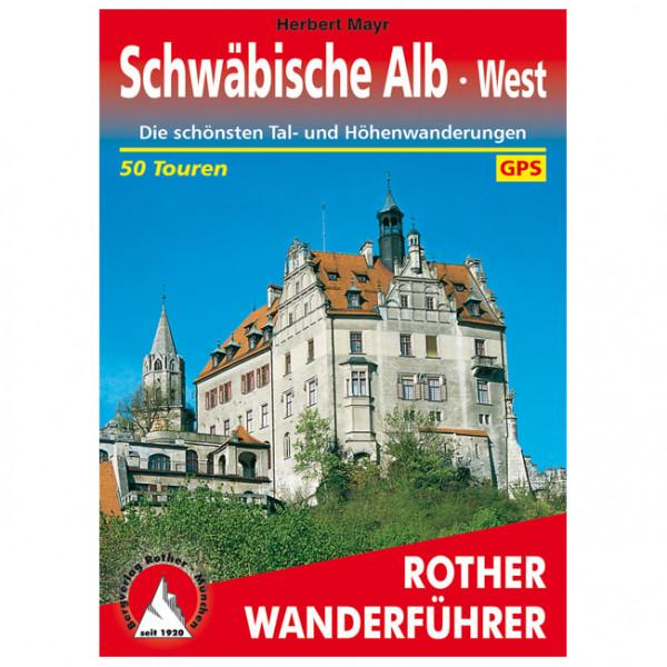 Bergverlag Rother - Schwäbische Alb West - Walking guide book
