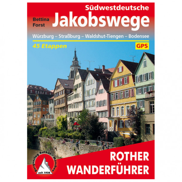 Bergverlag Rother - Südwestdeutsche Jakobswege - Walking guide book