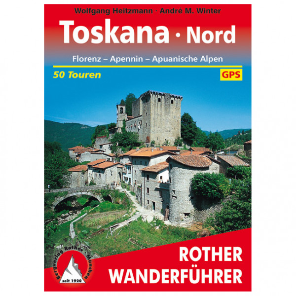 Bergverlag Rother - Toskana Nord - Walking guide book