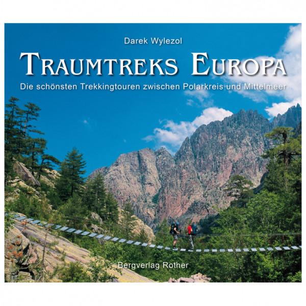 Bergverlag Rother - Traumtreks Europa - Vaellusoppaat