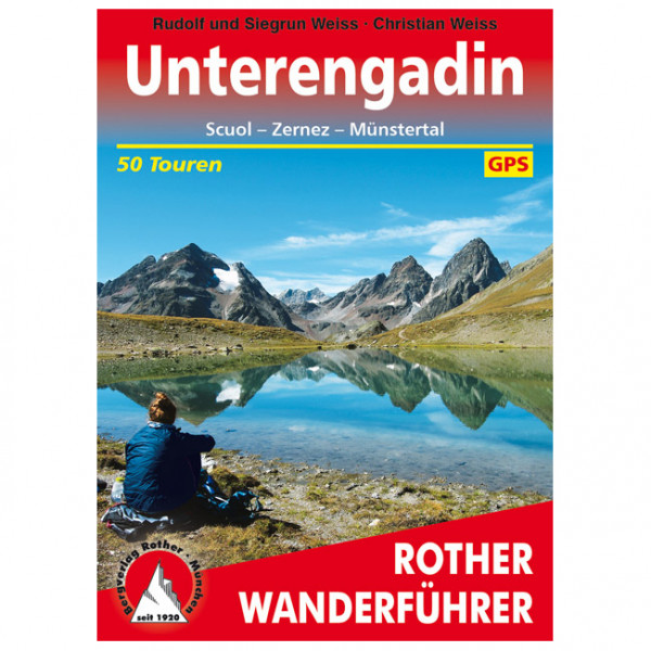 Bergverlag Rother - Unterengadin - Walking guide book