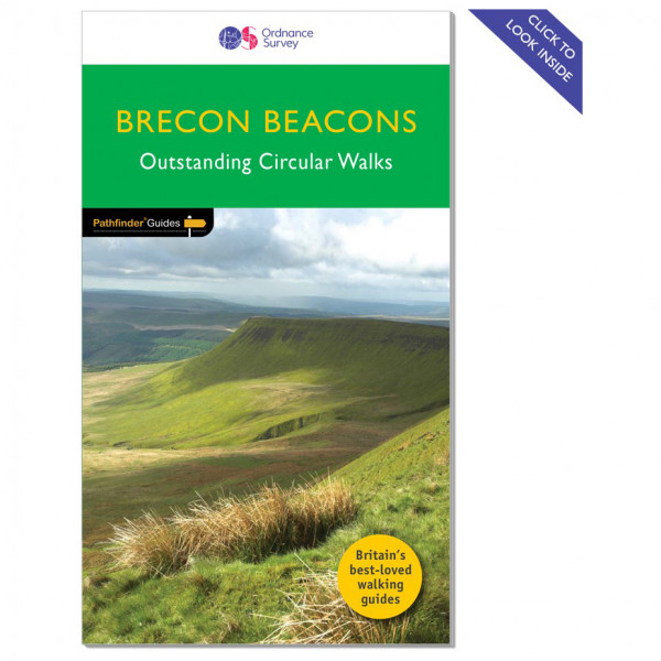 Ordnance Survey - Brecon Beacons Pathfinder - Vandringsguider