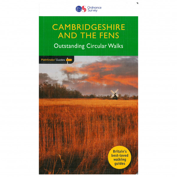 Ordnance Survey - Cambridgeshire & The Fens Pathfinder - Vaellusoppaat