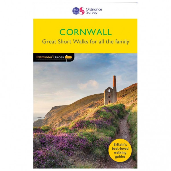 Ordnance Survey - Cornwall - Walking guide book
