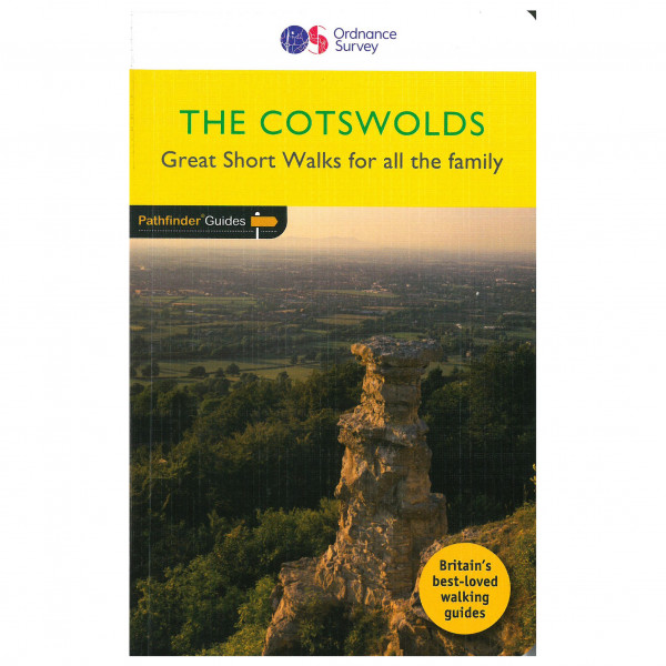 Ordnance Survey - Cotswold - Walking guide book