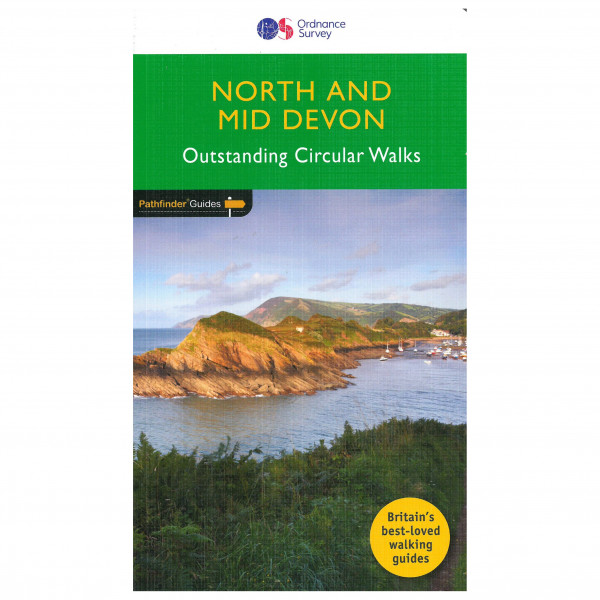 Ordnance Survey - Devon North & Mid Pathfinder - Guías de senderismo