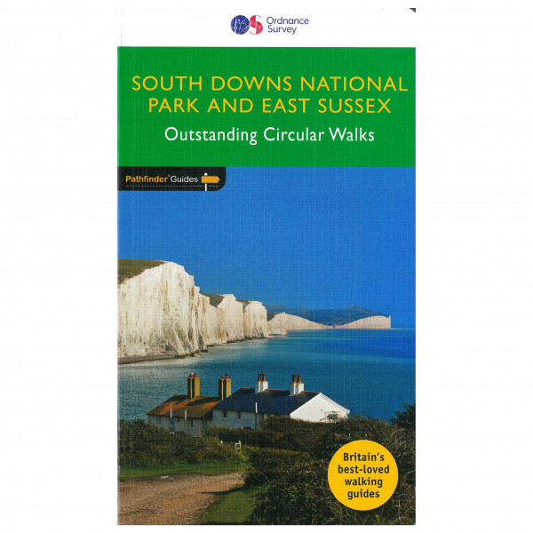 Ordnance Survey - Downs South Np & East Sussex Pathfinder - Vaellusoppaat