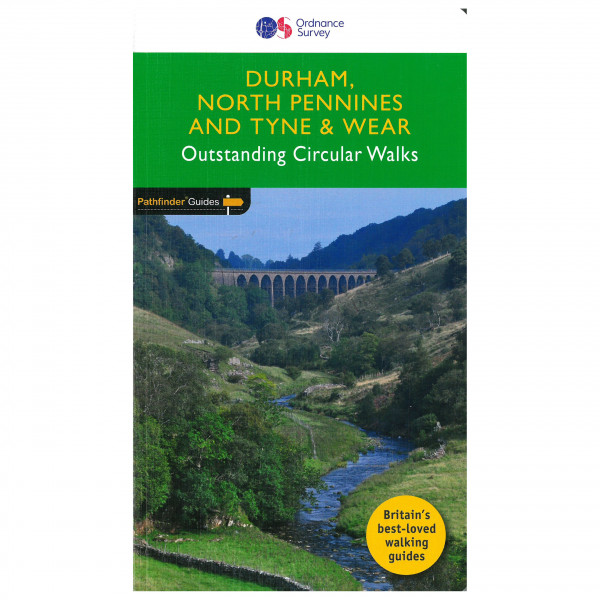 Ordnance Survey - Durham, North Pennines & Tyne & Wear Pathfinder - Guías de senderismo