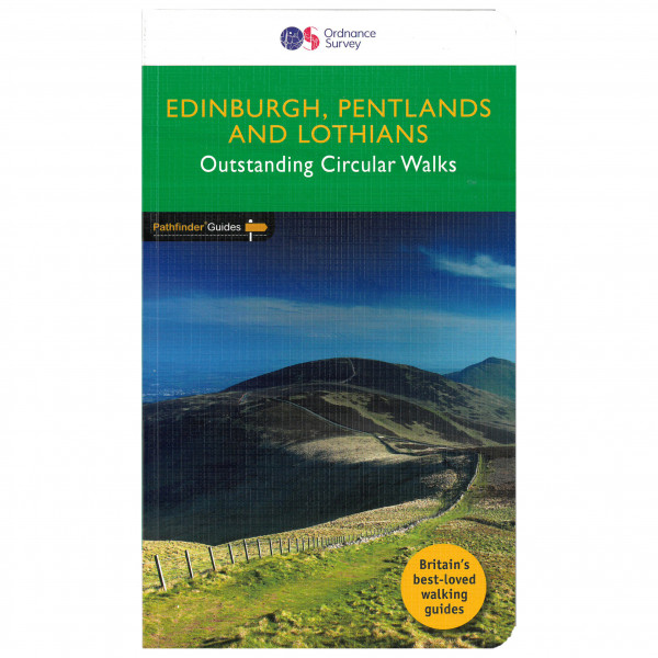 Ordnance Survey - Edinburgh, Pentlands & Lothians Pathfinder - Wandelgids