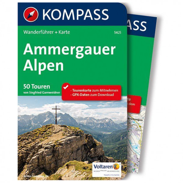 Kompass - Ammergauer Alpen - Walking guide book