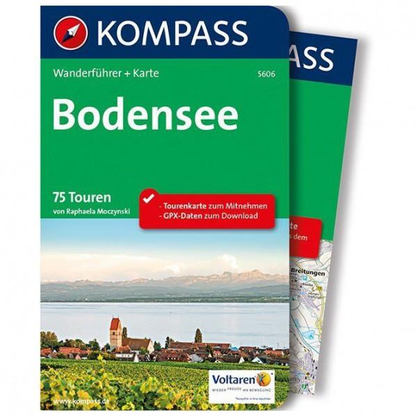 Kompass - Bodensee - Walking guide book