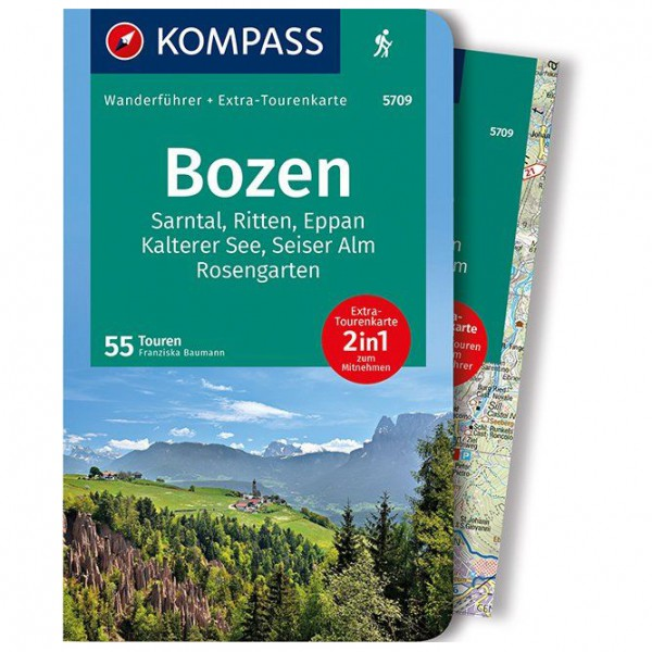 Kompass - Bozen, Sarntal, Ritten, Eppan - Vandringsguider