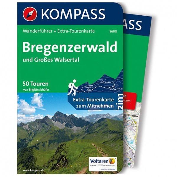 Kompass - Bregenzerwald und Großes Walsertal - Wandelgidsen