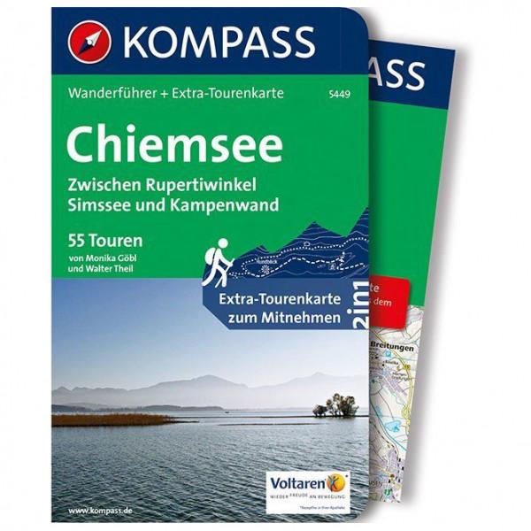Kompass - Chiemsee, Zwischen Rupertiwinkel - Vandreguides