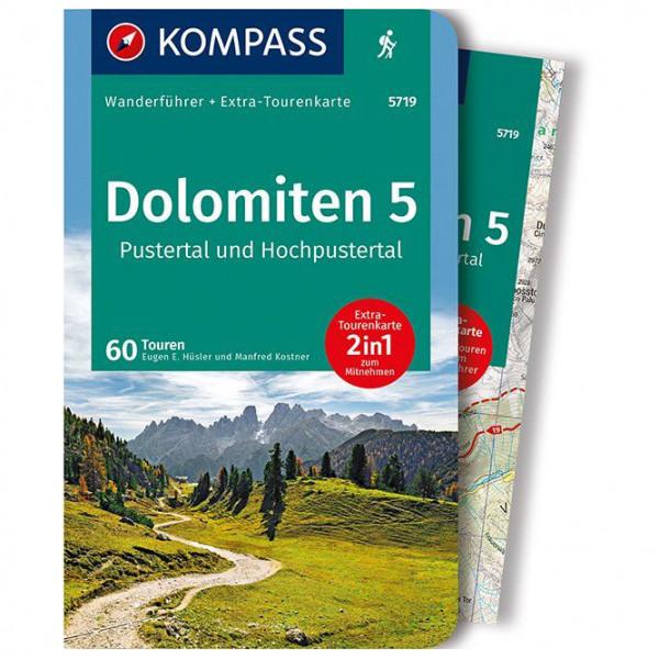 Kompass - Dolomiten 5, Pustertal und Hochpustertal - Vandringsguider