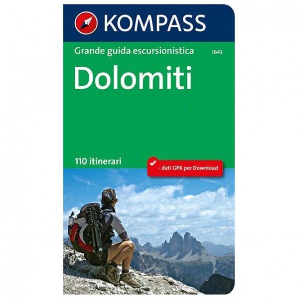 Kompass - Dolomiti - Vaellusoppaat